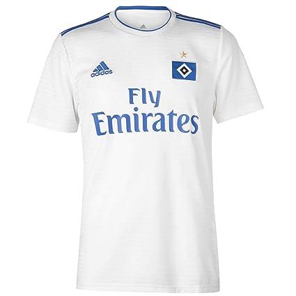 019007da Amazon.com : adidas 2018-2019 Hamburg Home Football Soccer T-Shirt Jersey :  Sports & Outdoors