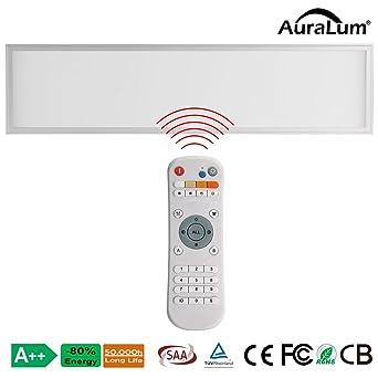 Auralum Dalle LED 120—30CM Panneau Lumi¨re Plafonnier 40W éclairage