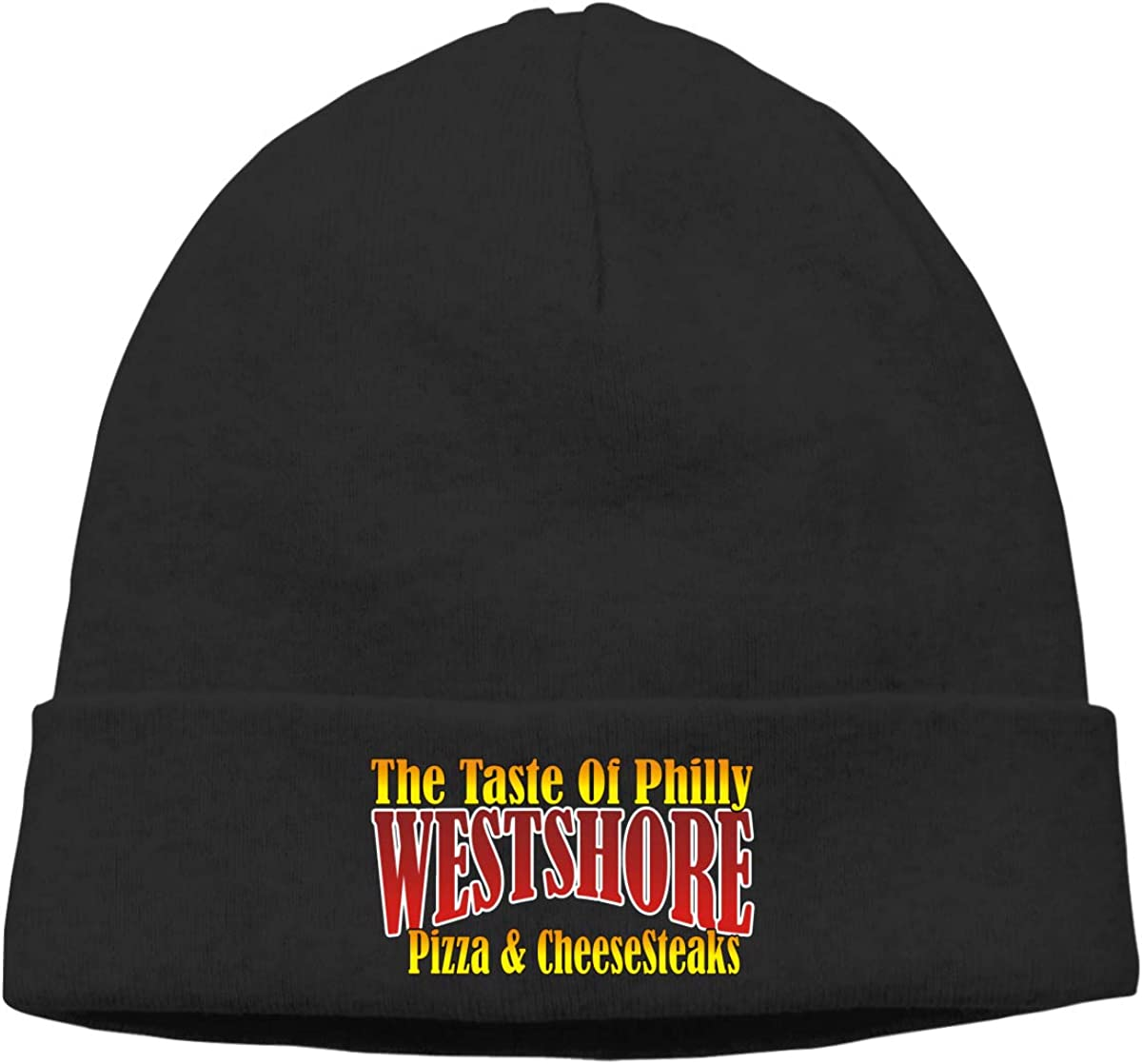 Pizza CHEESESTEAKS Beanie Hats Cap Men Winter Summer Chunky Skull Cap Winter Hats