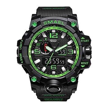 Bainuojia Digital Relojes para niños - Resistente al agua Outdoor Sports Digital Relojes analógico reloj de pulsera: Amazon.es: Deportes y aire libre