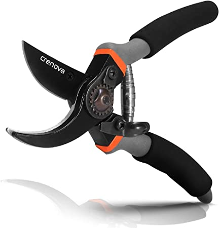 Gardening Pruner FREE S/&H Garden Scissors w// Serrated Blades Stainless Steel