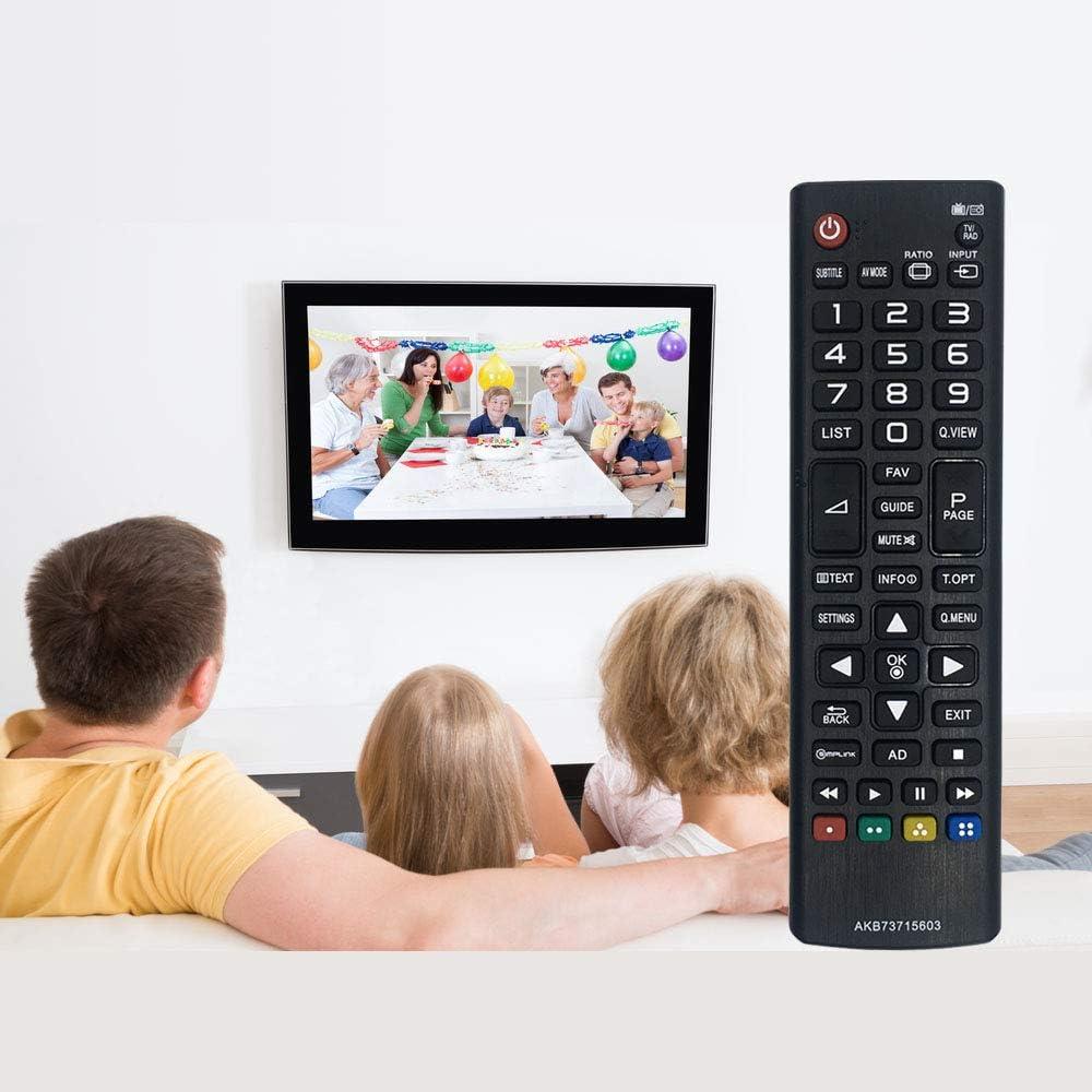 MYHGRC Nuevo Control Remoto de reemplazo para Control Remoto de TV ...