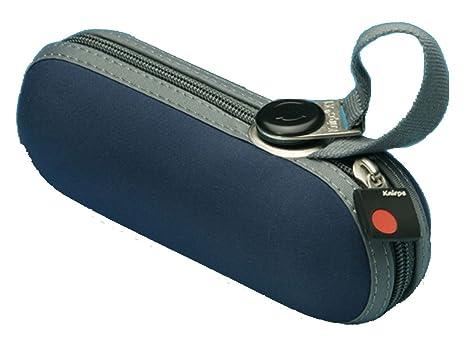 Knirps X1 811 - Paraguas de bolsillo con carcasa, color azul