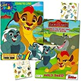 Lion Guard Coloring Book Super Set -- 2 Lion Guard Books, 2 Safari Sticker Sheets