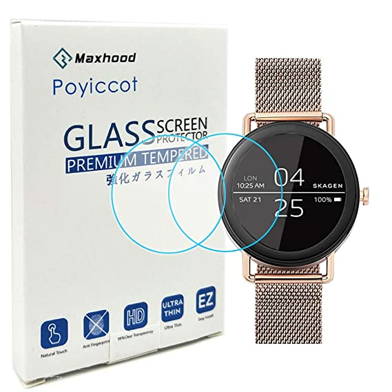 Amazon.com: Poyiccot for Skagen Falster 2 Screen Protector ...