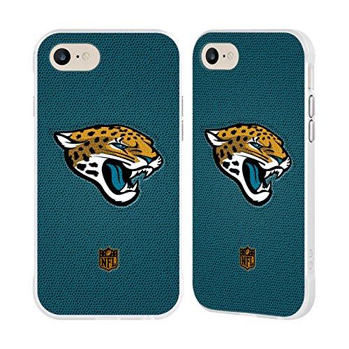 Official NFL Football Jacksonville Jaguars Logo White Fender Case for Apple iPhone 7 / iPhone (Jacksonville Jaguars Football Case)