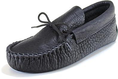 Men's Sinsinawa ''Black'' Moccasin