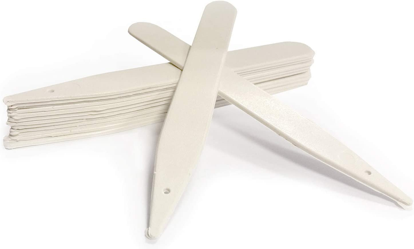 """300 x 4/"""" White Plant Stick In Labels 10cm Plastic Seed Tray Garden Marker Pen"""