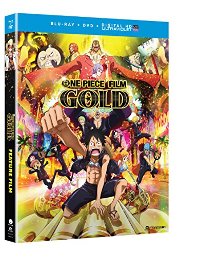 One Piece Film: Gold Movie (Blu-ray/DVD Combo + UV) by FUNimation