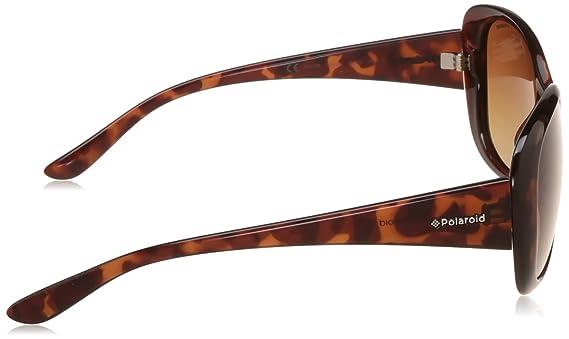 Damen Size Sonnenbrille Gr Bekleidung Polaroid One Braun vwSqxT
