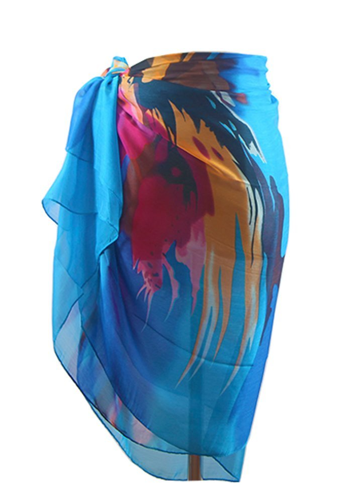 DiaryLook Large Sarong Beach Cover up Wrap Beachwear Skirt Dress Women A1856K2-10