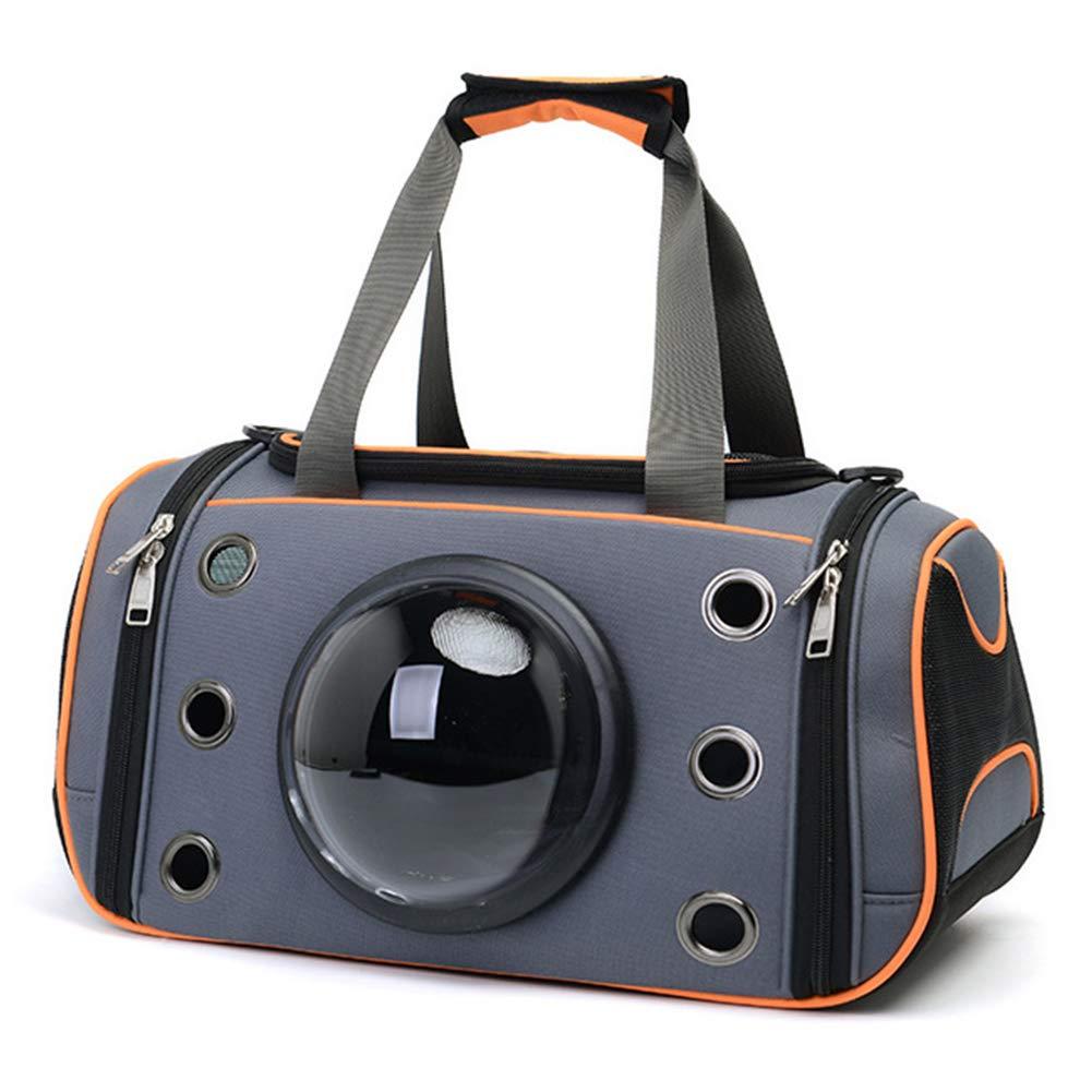 orange L orange L WQING Soft-Sided Pet Travel Cats Foldable Pet Bag EVA Hand Carry Portable Bag Home