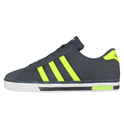36a856a96e34 Adidas NEO Men Grey Daily Team Sneakers (10 UK)  Buy Online at Low ...