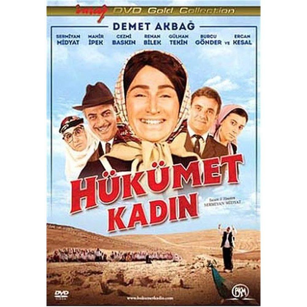 Amazon.com: Hukumet Kadin: Sermiyan Midyat, Demet Akbag, Mahir ...
