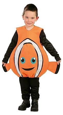Krause Sohn Kinderkostum Fisch Orange Fasching Kostum Clownfisch