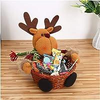 99AMZ Cesta de Almacenaje para Navidad para Caramelos
