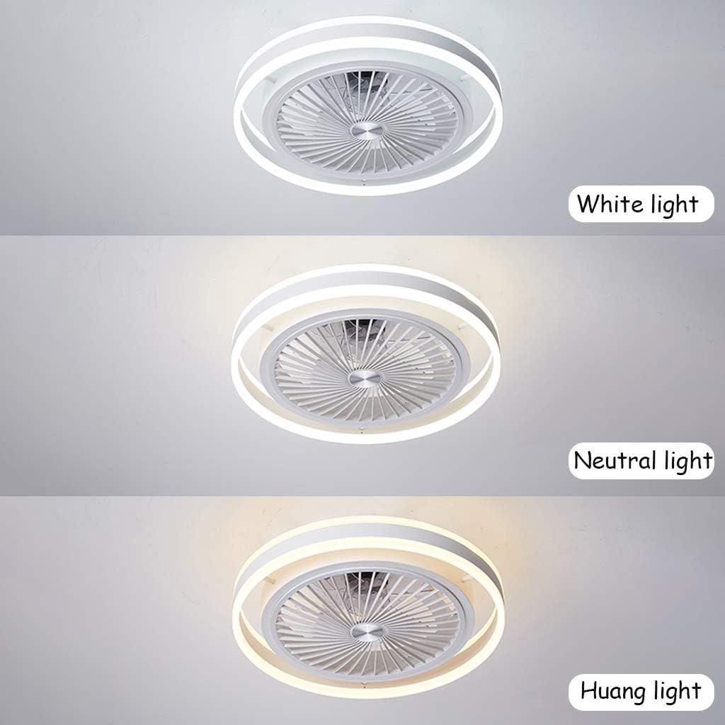 48W Deckenbeleuchtung Einstellbare Windgeschwindigkeit f/ür Wohnzimmer Schlafzimmer,Schwarz Deckenventilator mit Beleuchtung Dimmbarer mit Fernbedienung Moderne LED-L/üfter-Deckenleuchte