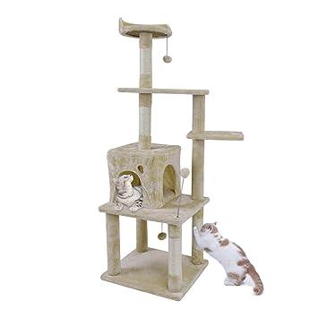 Pawz® - Mueble de Pared para Gatos con diseño de árbol rascador, 145 cm