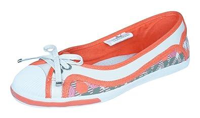 dd6e7438432 PUMA Rudolf Dassler Wellensprung Womens Ballet Pumps Shoes-Orange-5
