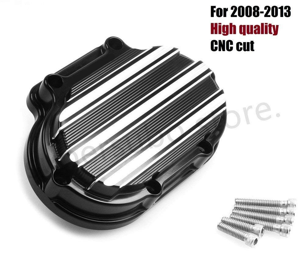 CNC Transmission Side Cover For Harley Road King FLHR 07-16 Street Glide FLHX 07-13 Road Glide FLTR 07-09 softail Fat Boy 10-16 Fat Bob FXDF 08-17