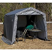 ShelterLogic 11 x 12 x 10 ft. Peak Frame Storage Shed
