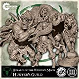 Steamfoged Games Guild Ball: Hunter Heralds of The Winter's Moon Miniature Game Figure