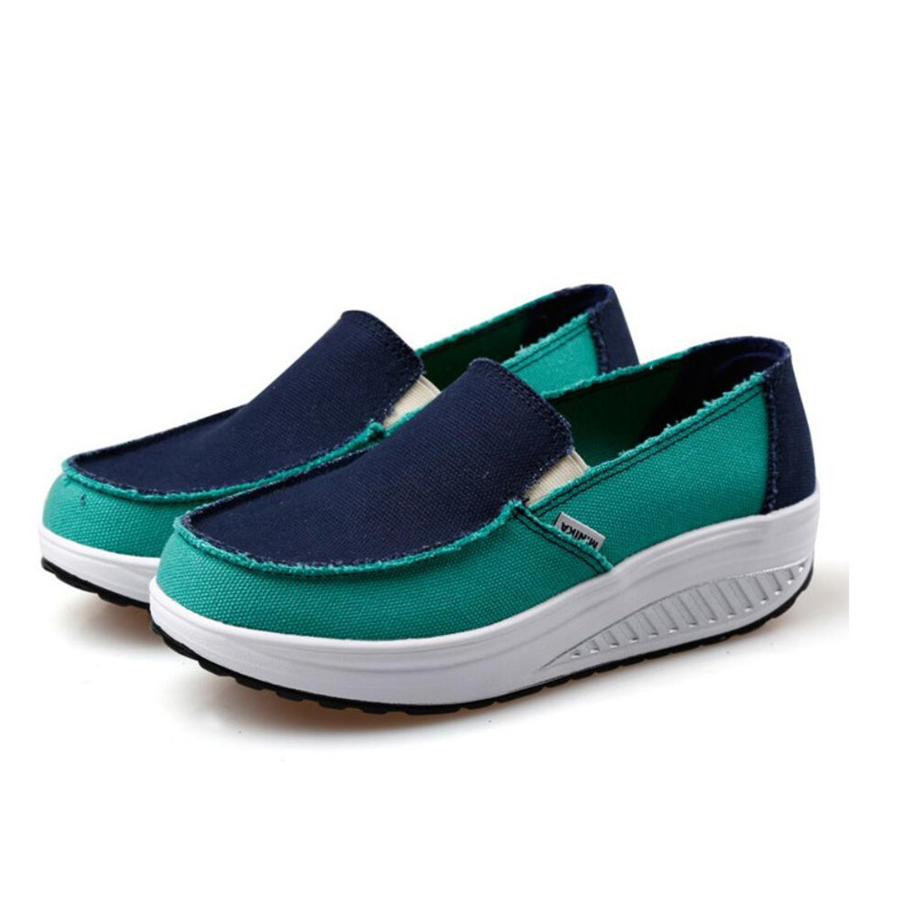 Xue Damenschuhe Frühling Herbst Loafers & Slip-Ons Driving schuhe Fitness Shake schuhe Shake Schuhe Shaking schuhe Flache Loafers Turnschuhe Sportschuhe Plateauschuhe (Farbe   C Größe   39)
