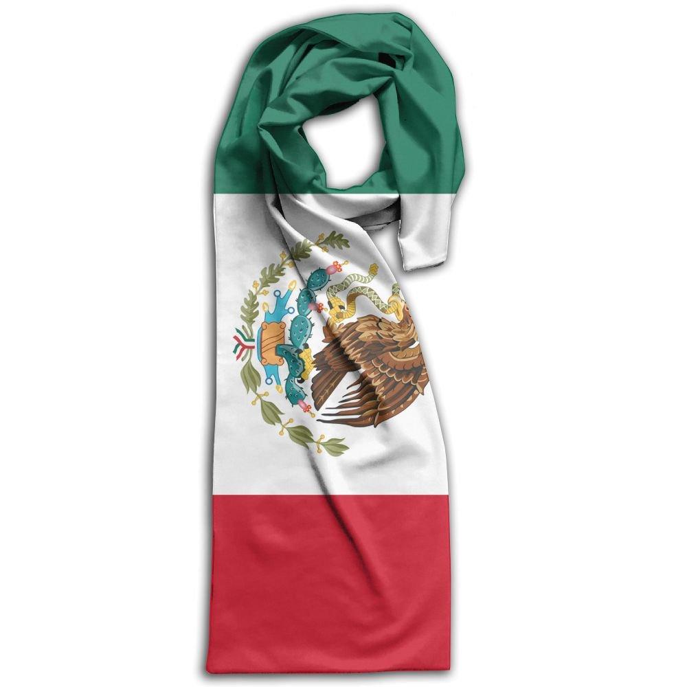 Mexican Flag Unisex Fashion Scarfs Shawl Scarf Printed