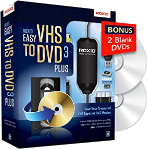 Roxio Easy VHS to DVD Burning and Video Capture