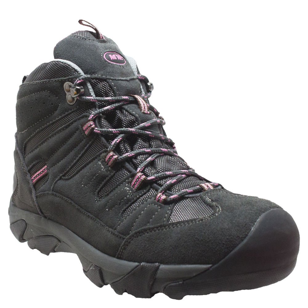 Adtec Women's 2019c Composite Toe Hiker Brown/Lilac Work Boot B078TQ7DSW 7.5|Gray/Pink