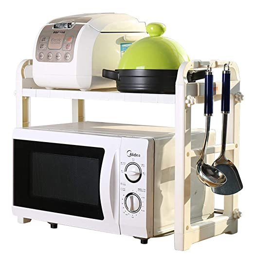 Rejilla de horno de microondas, cocina de 2 niveles, estante ...