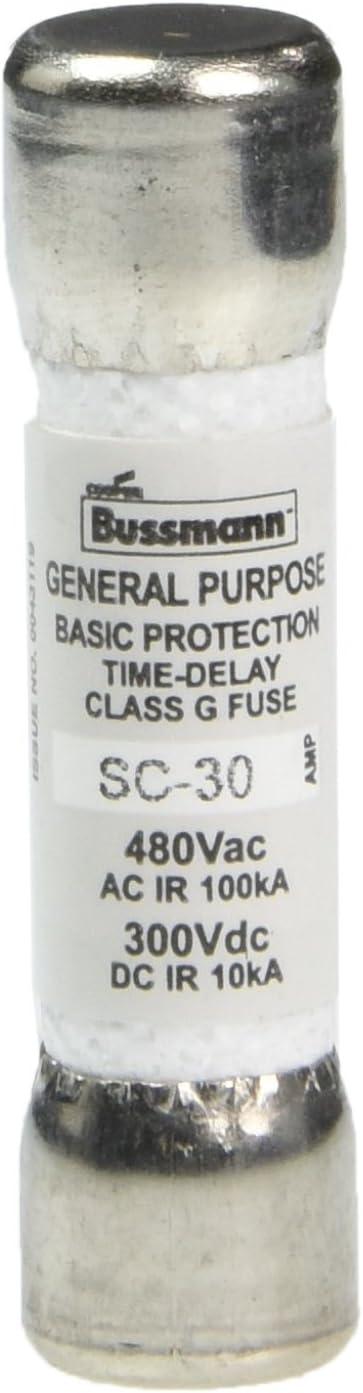 Bussmann Fuse Cartridge, Time Delay 30 Amp 480V (2 FUSES) - - Amazon.comAmazon.com