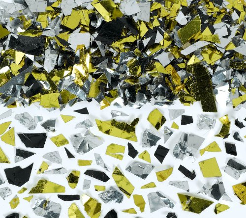 confetti-party-sparkle-flakes-silver-gold-black-25-ounce