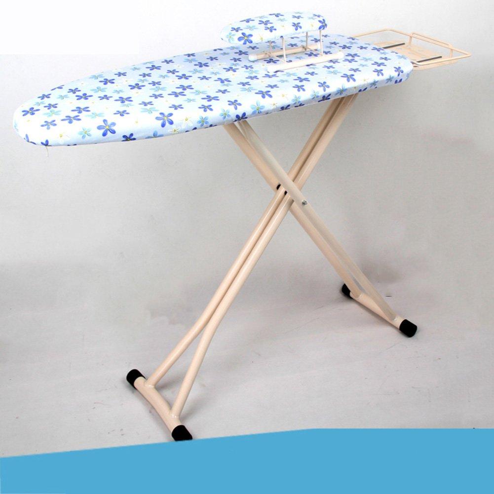 アイロン補強余分な安定脚,高さ調節可能折りたたみ式テーブル トップ アイロン スチーム アイロンの残りの部分-D B07DX4WB3W D
