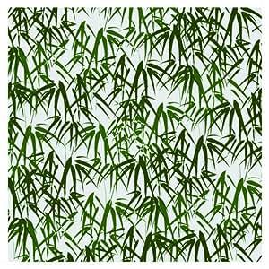 Herstera 13204245 - Cojin, 45 x 45 cm, color verde y crema