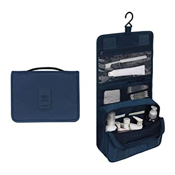 0001245ef481 Amazon.com   Travel Waterproof Portable Man Toiletry Bag Women Cosmetic  Organizer Pouch Hanging Wash Bags Cute Makeup Neceser Sac Maquillage    Beauty