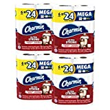 #6: Charmin Ultra Strong Toilet Paper, Mega Roll, 24 Count (Packaging May Vary)