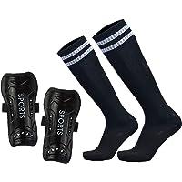 gdangel Soccer Shin Pads 2//1PCS Neoprene Shin Guard Soccer Protective Socks Football Shin Pads Training Basketball Sports Protector Leg Sleeves Support