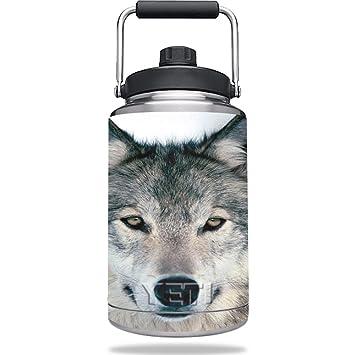 Piel para Yeti Rambler uno Gallon jarra - Lobo   MightySkins ...