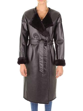 7a032e6a3a1 Guess Marciano 84G367-8861Z Manteau Femme Noir 42  Amazon.fr  Vêtements et  accessoires