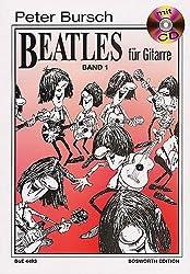 Peter Bursch Beatles für Gitarre, Bd.1, mit CD