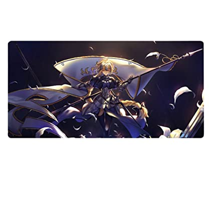 5d5721af09c Amazon.com : Rain's Pan Anime Fate Grand Order Cosplay Non-slip Rubber Big  Gaming Mouse Pad.20×39Inches (02) : Office Products