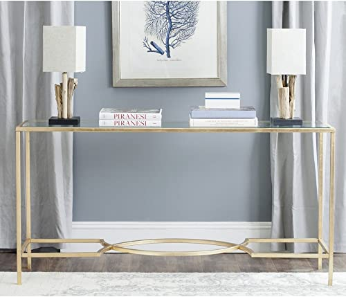 Safavieh Home Collection Inga Gold Console Table