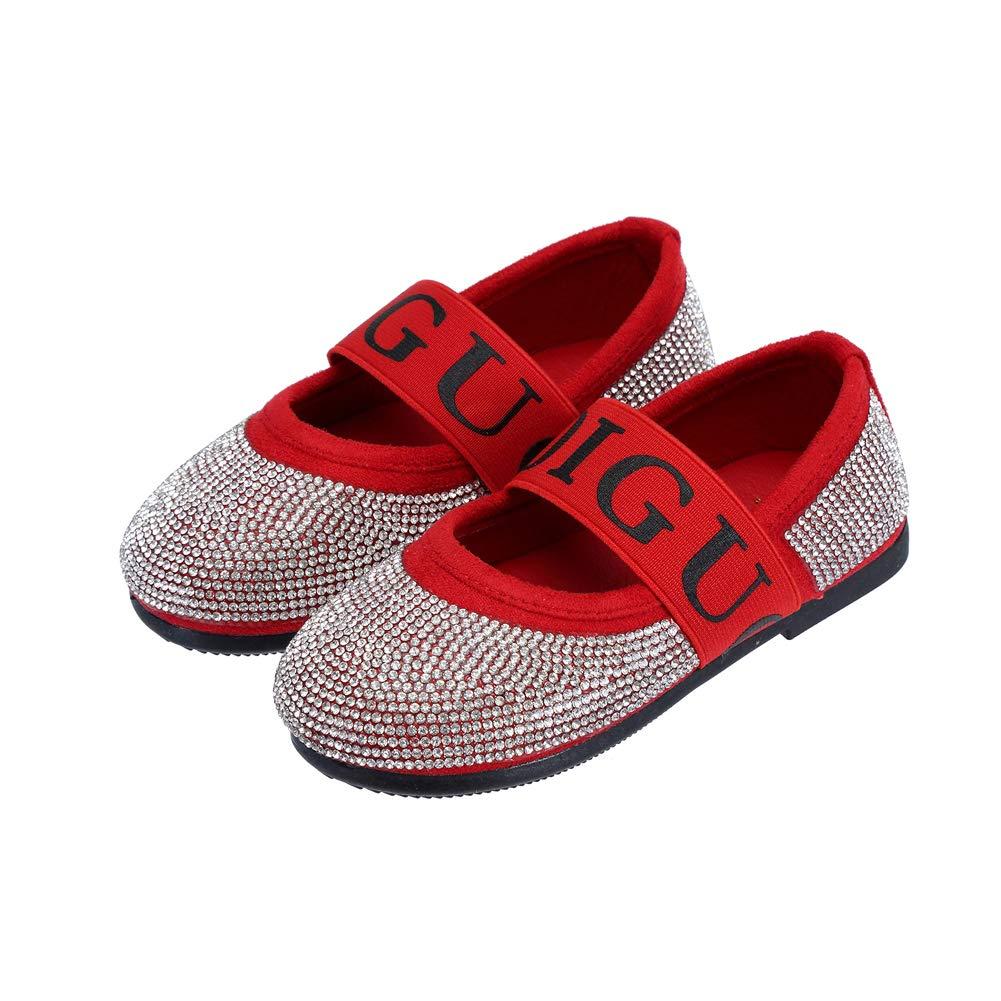 DOREI Toddler//Little Kids Girls Classic Casual Bowknot Princess Party Uniform School Mary Jane Flats Dress Shoes B/_S002R