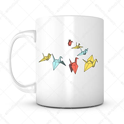 Amazon A Thousand Cranes Best Wish Gift Mug Ideas Coffee Mug
