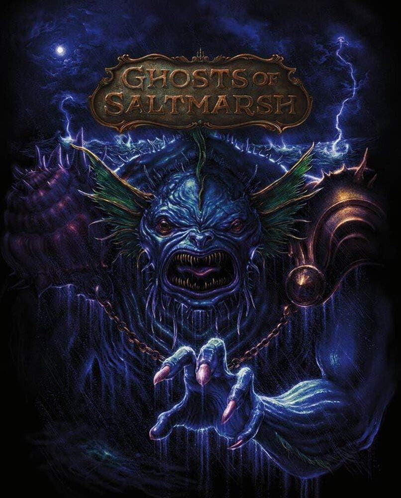 D&d: Adventure Ghosts Of Saltmarsh Limited Edition (hc)