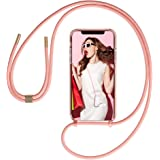 GOODVISH Crossbody Case for iPhone 11 Pro Lanyard Phone Case | Clear Transparent TPU Cell Phone Cover with Adjustable…