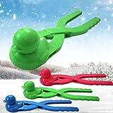 Smilemall 雪玉づくり 雪だま製造機 雪合戦の秘密兵器 雪合戦 雪遊びに (ランダムカラー(アヒル型))