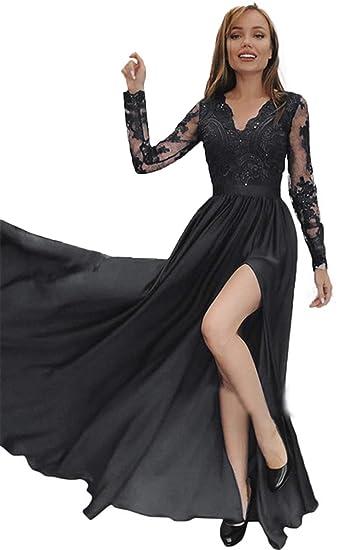 Celebrity Prom Dresses V-Neck