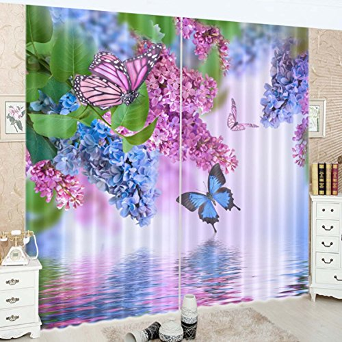 scenery 3d blackout curtains